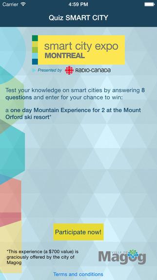 Quiz Smart City Expo Montréal