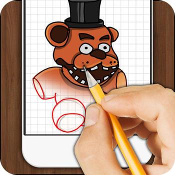 How to Draw Freddy LOGO-APP點子
