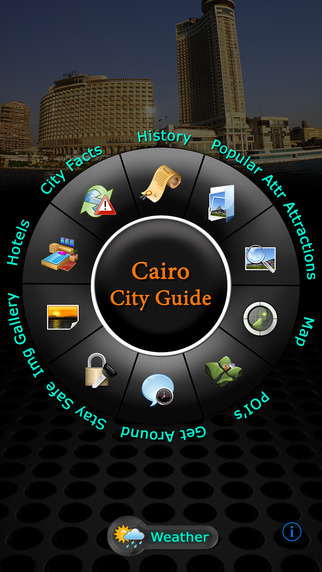 Cairo Offline Map Travel Guide