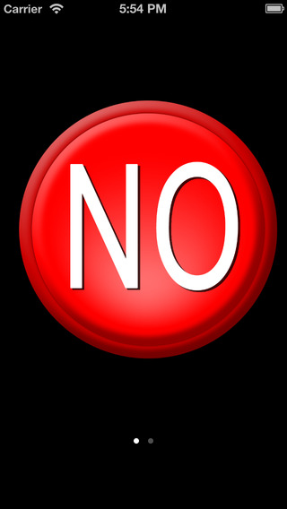 Yes No Button Free