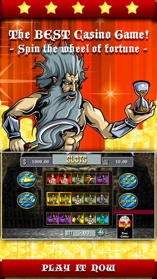 Ancient Olympus Slots Game - Spin an epic wheel to win grand casino price