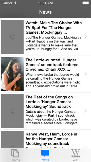 News for The Hunger Games Unofficial