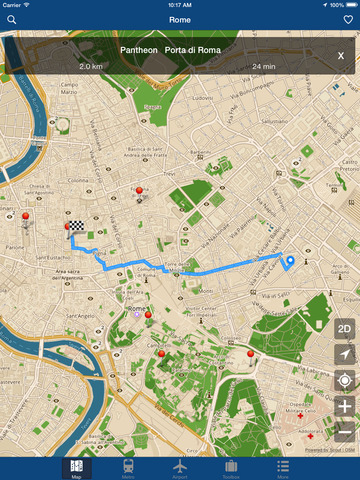 Rome Offline Map - City Metro Airport Screenshots
