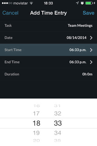 TrackingTime PRO screenshot 4