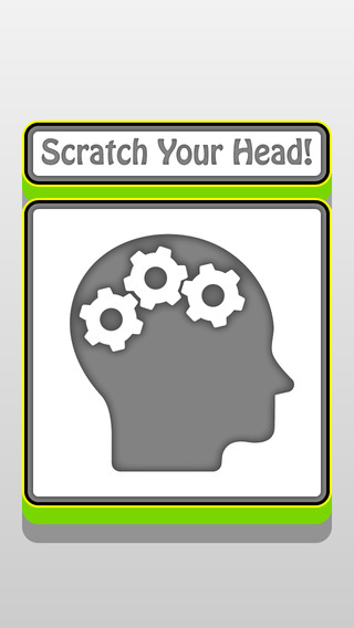 Scratch Your Head : Free Funny Mega Puzzle Game for home and classroom