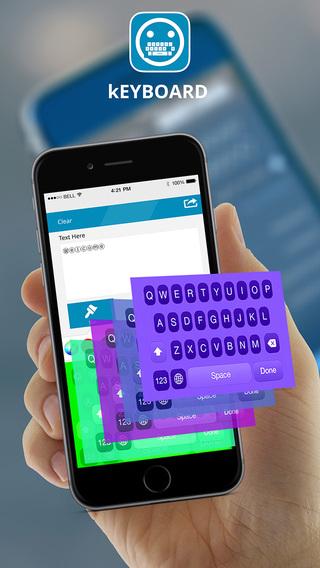 My Funky Color Emoji Keyboard App