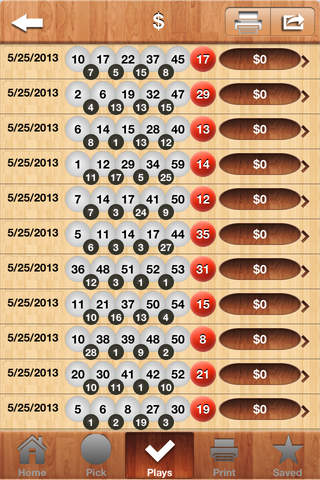 Powerball Scan screenshot 4