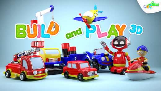 Build and Play 3D - Planes Trains Robots and More