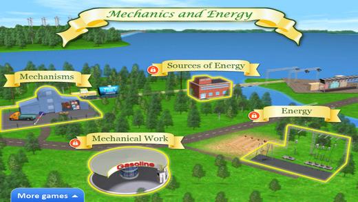 STEM Islands. Mechanics. Lite