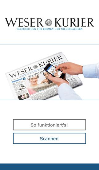 WESER-KURIER Live App