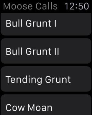 Moose Hunting Calls iPhone Screenshot 2