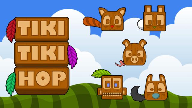 Tiki Tiki Hop - Infinite Platform Hopper Game