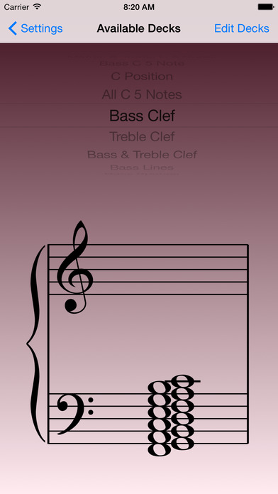 Music Flash Class iPhone Screenshot 3