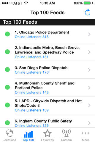 Police Radio Pro - Mobile Scanner screenshot 2