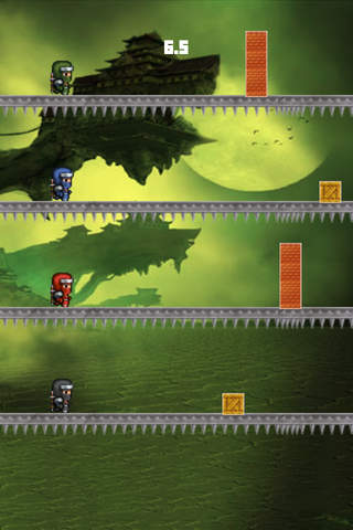 Tap Tap Ninja Run screenshot 1