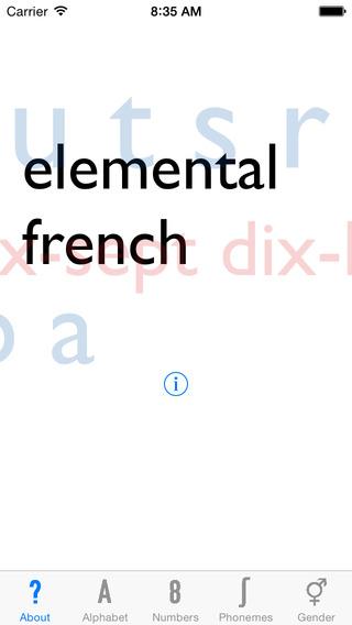 Elemental French