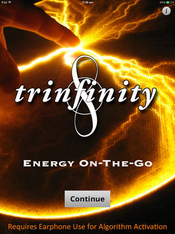 TRINFINITY8 : Energy On-The-Go HD