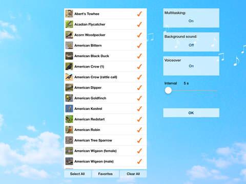 Chirp! Bird Songs USA + iPad Screenshot 5
