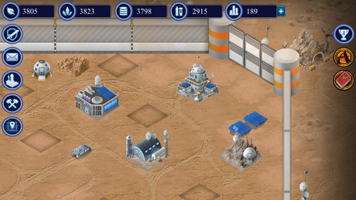 Moon Colony - Strategy Game