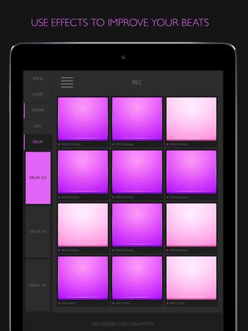 drumpads24紫色谱子