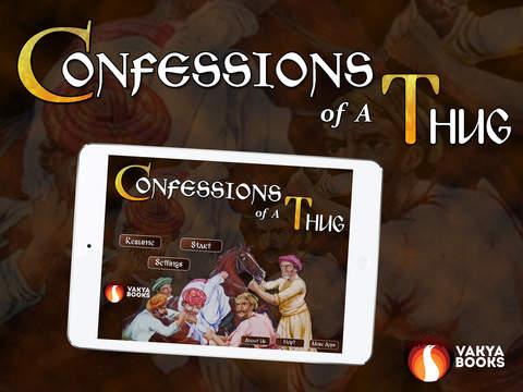 【免費書籍App】Confessions Of A Thug-APP點子