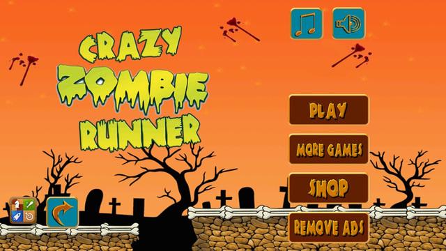 ` Crazy Zombie Runner Escape The Plague Arcade Free Game