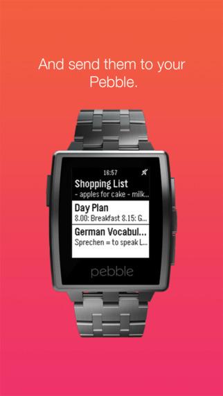 玩免費生產應用APP|下載Notes for Pebble app不用錢|硬是要APP