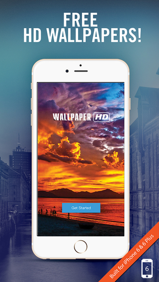 Cool Wallpapers Backgrounds for iOS 8 and iOS 7 on iPhone in Retina HD