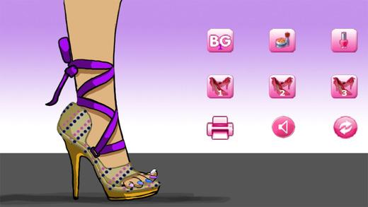 Sally's Shoe Designer