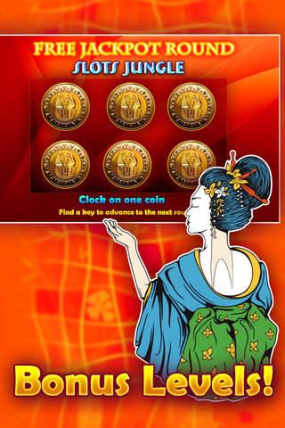 Slots Jungle - Online casino game machines! screenshot 4