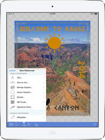 iWatermark+ Watermark App, Photo & Video Batch Watermarking Canon, Save&Share Watermarks Screenshots