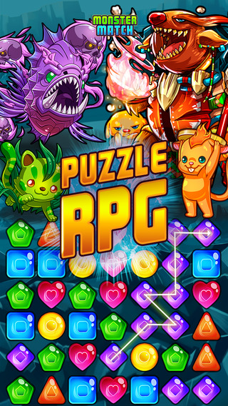 Monster Match Puzzle Adventure