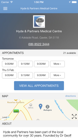 Hyde Partners Medical Centre