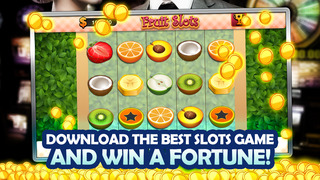 AAA Absolute Free Slots Fruits Machine