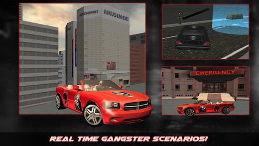 Crazy Gangster Car Driver Simulator 3D