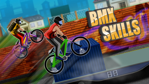 BMX Skills - Crazy Stunts On Mountain Bike Free Game