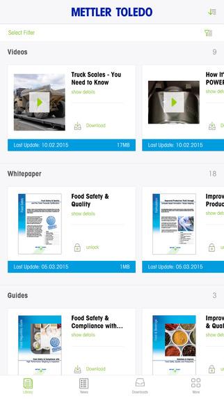 METTLER TOLEDO Library App