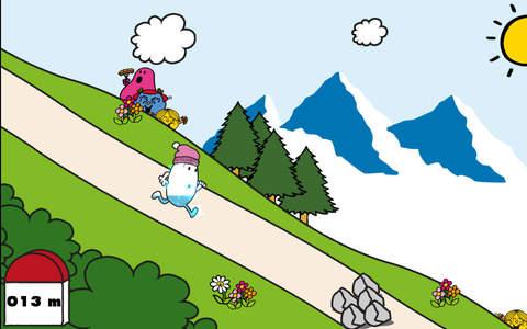 La course de M. Glouglou par evian et Monsieur Madame screenshot 1