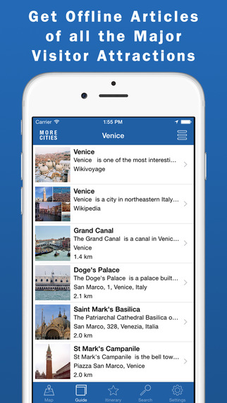 Venice Travel Guide Offline Map
