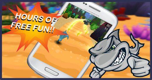 Shark Run 3D: Feeding Frenzy