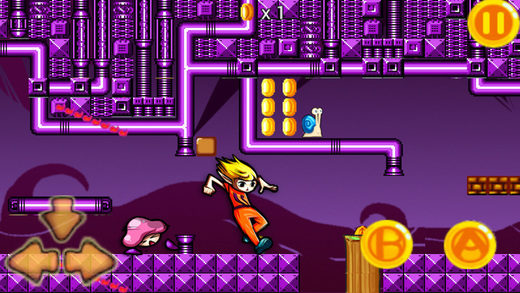 Maria Adventure Running-Classic running adventure game with new interface Screenshots