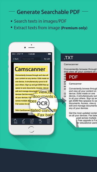 CamScanner Free| PDF Document Scanner and OCR screenshot