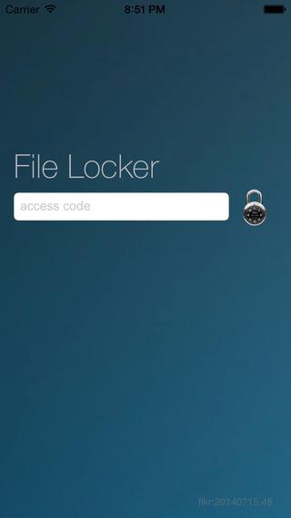 File Locker Free iPhone Screenshot 5