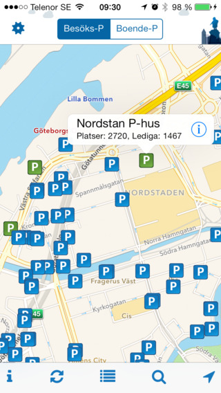 Parkering Göteborg - Hitta Parkering