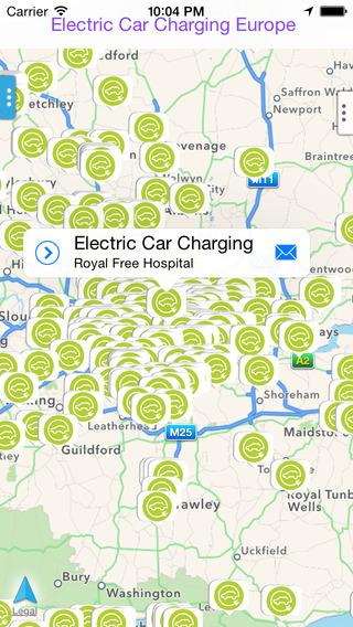 Electric Car Charging Europe