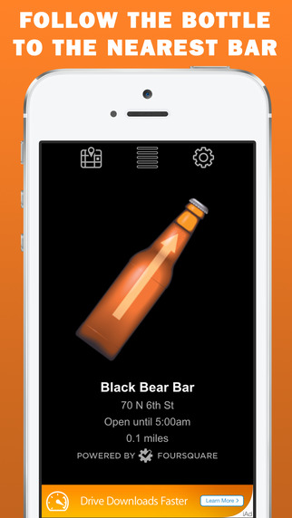 Beer Radar - Find the Nearest Bar