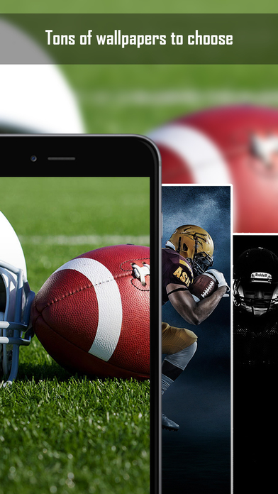 American Football Wallpapers & Backgrounds - Home Screen Maker with Sports Pictures App Report ...
