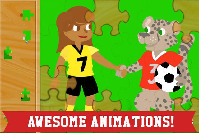 本应用包含了十二种不同的适合幼儿和小孩玩的拼图式的益智游戏,其中