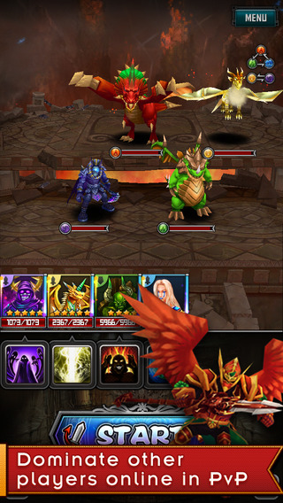 Dragon Tactics Origin Epic 3D Match Puzzle MMORPG