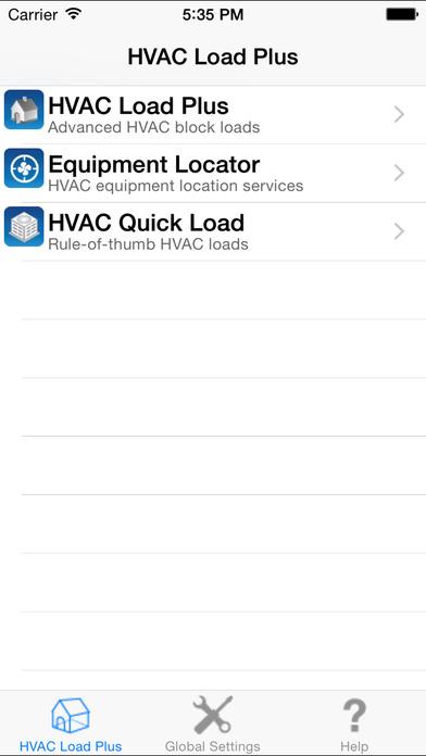 HVAC Load Plus iPhone Screenshot 1